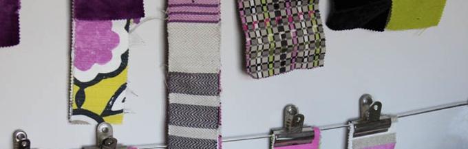 Mistletoe Interiors Sample Fabrics