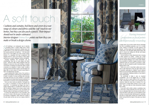 Mistletoe Interiors publication A Soft Touch
