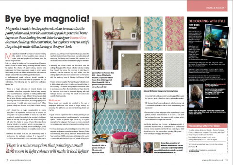 Mistletoe Interiors publication Bye Bye Magnolia