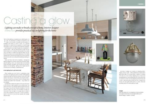 Mistletoe Interiors publication - Casting a Glow
