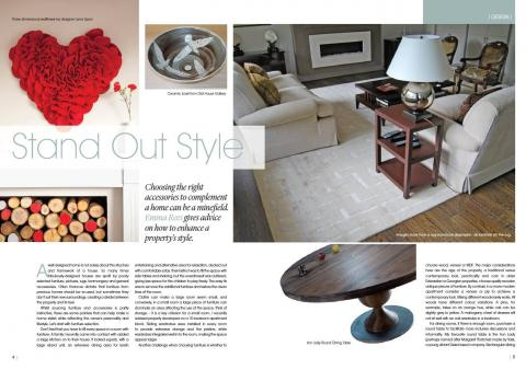 Mistletoe Interiors publication Stand Out Style